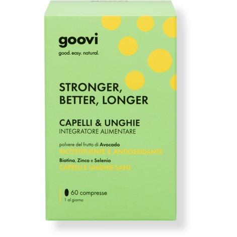 GOOVI CAPELLI&UNGHIE 60 COMPRESSE - Farmacia della salute 360