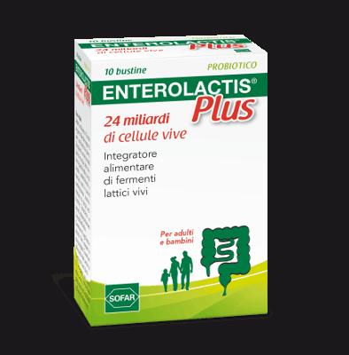 ENTEROLACTIS PLUS POLVERE 10 BUSTINE - farmalaura.it