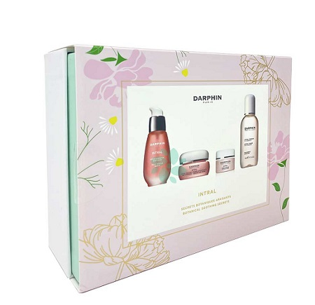 INTRAL MOTHERS DAY SET 1 RETAIL SERUM + 1 RETAIL EYE CREAM + 1 DELUXE INTRAL TONER CHAMOMILE + 1 DELUXE INTRAL CREAM - Farmacia Castel del Monte