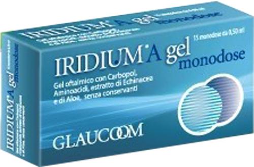 IRIDIUM A GEL OFTALMICO MONODOSE 15X0,50 ML - Farmacia Centrale Dr. Monteleone Adriano