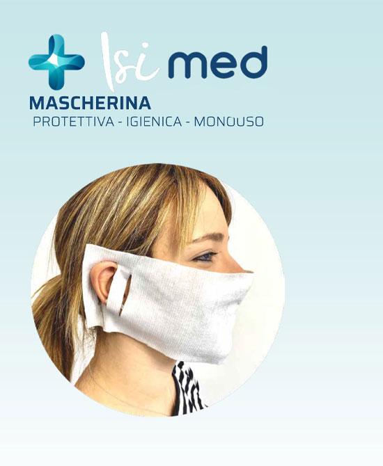 Isi Med  mascherine chirurgiche monouso certificate CE dispositivo medico di classe 1 confezione da 20 pezzi - La tua farmacia online