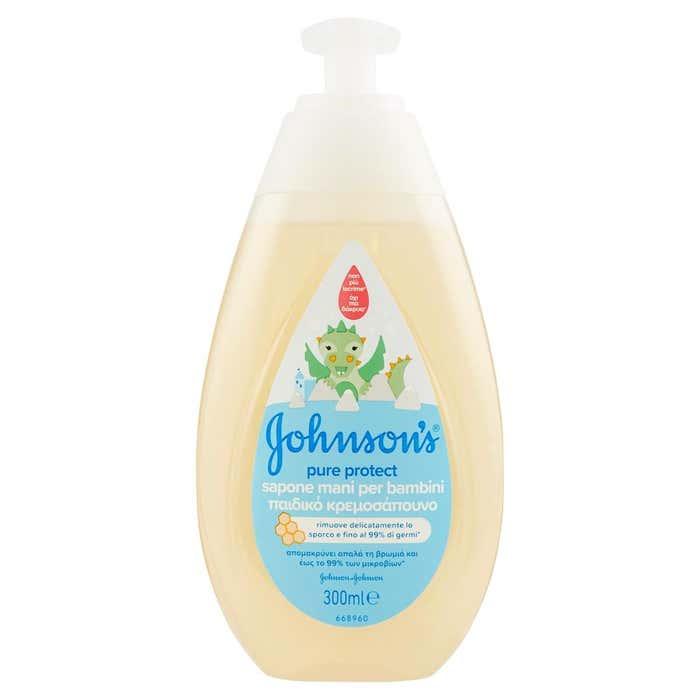 JOHNSONS BABY PURE PROTECT SAPONE MANI BAMBINI 300 ML - FARMAPRIME