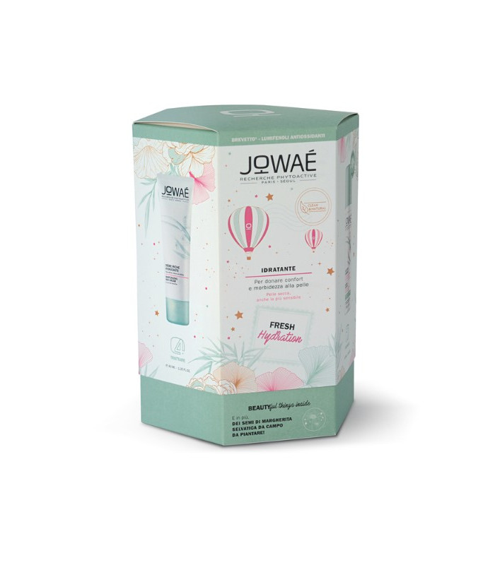 JOWAE COFANETTO CREMA LEGGERA IDRATANTE 40 ML + MM ACQUA SPRAY 50 ML - Spacefarma.it