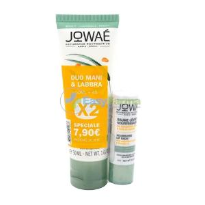 JOWAE DUO CREMA MANI IDRATANTE 50 ML + BALSAMO LABBRA NUTRIENTE 4 G - Farmastar.it