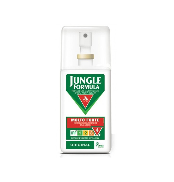 JUNGLE FORMULA MOLTO FORTE SPRAY ORIGINAL 75 ML - Farmafirst.it
