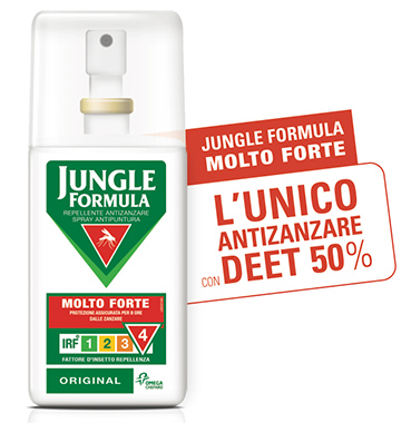 Jungle Formula Spray Anti-Zanzare Molto Forte 75 ml - latuafarmaciaonline.it
