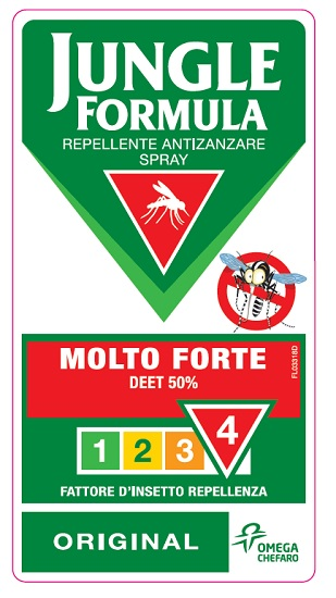 Jungle Formula Molto Forte Spray 75 ml - Farmalilla
