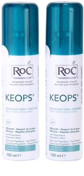 Keops Deodorante Spray Fresco Senza Profumo 2 X 100 ml Promo - Farmastar.it