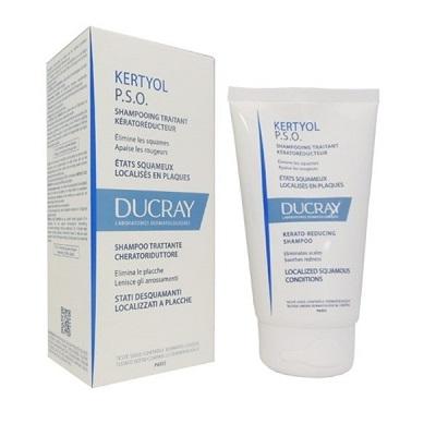 Ducray Kertyol  PSO Shampoo Trattante Stati Desquamanti Localizzati Placche 125 ml  - Farmastar.it