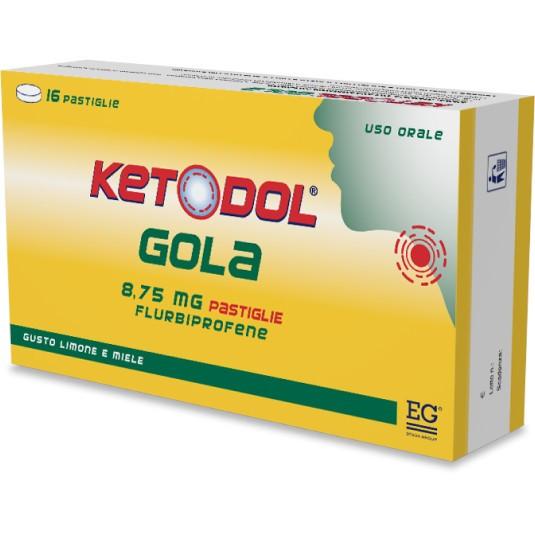 KETODOL GOLA*16PASTL 8,75MG LM - Farmafamily.it
