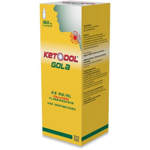 KETODOL GOLA*COLLUT FL 160ML - Farmafamily.it
