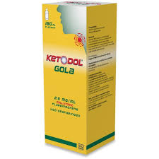 KETODOL GOLA*COLLUT FL 160ML - Farmajoy