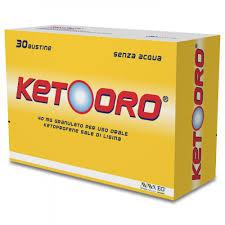 KETOORO*OS GRAT 30BUST 40MG - Farmajoy