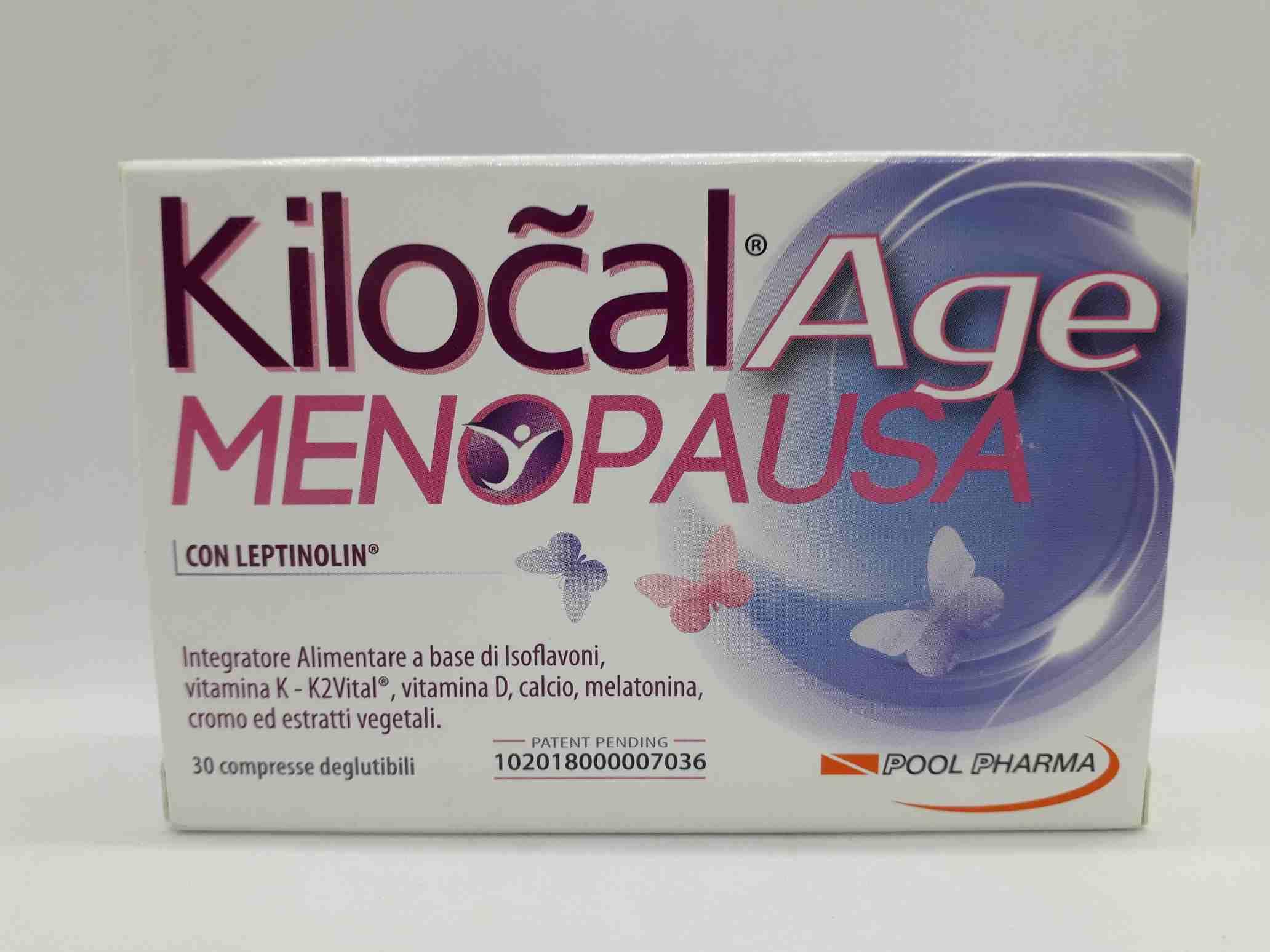 KILOCAL AGE MENOPAUSA 30 COMPRESSE - Farmaciaempatica.it