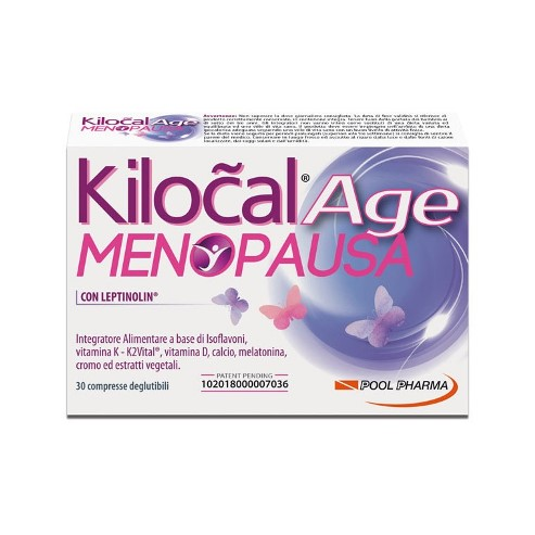 KILOCAL AGE MENOPAUSA 30 COMPRESSE - Farmaconvenienza.it