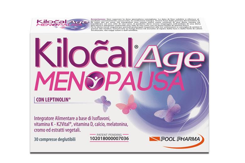 KILOCAL AGE MENOPAUSA 30 COMPRESSE - pharmaluna