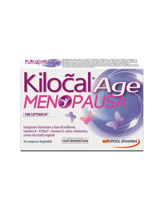 Kilocal Age Menopausa 30 Compresse - latuafarmaciaonline.it
