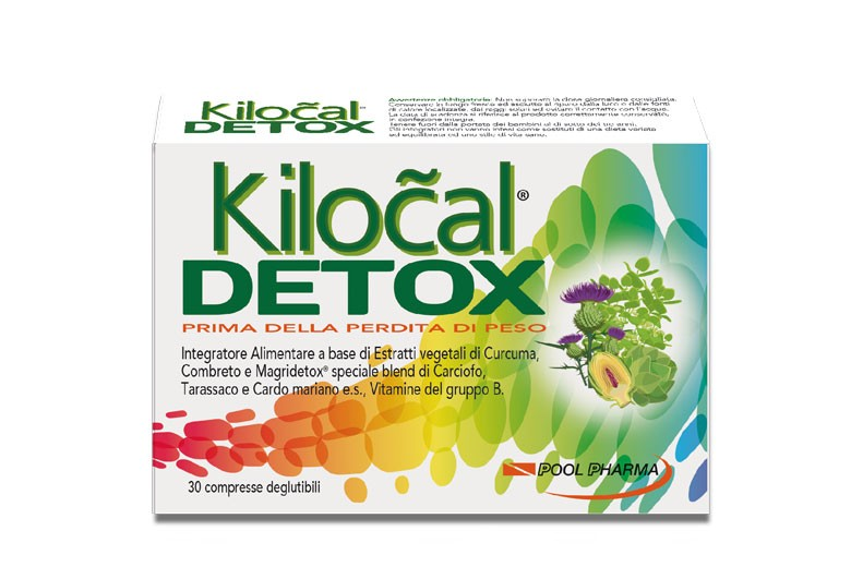 KILOCAL DETOX 30 COMPRESSE - Nowfarma.it