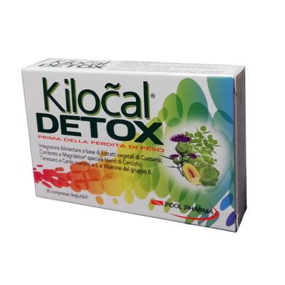 Kilocal Detox Pool Pharma 30 compresse Scadenza luglio 2021 - latuafarmaciaonline.it