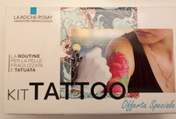 KIT TATTOO Cicaplast B5 Gel Detergente + Balsamo SPF 50 + Anthelios XL - Farmalilla