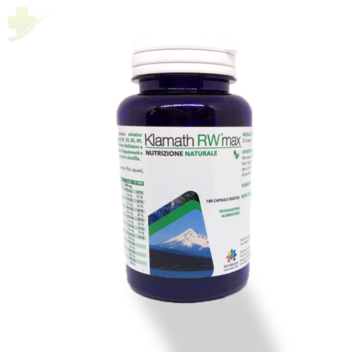 Nutrigea Klamath Rw Max Integratore 180 Capsule - Farmastar.it