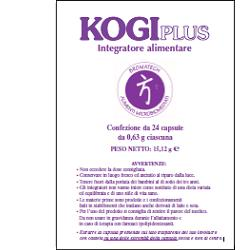 Kogi Plus 24 Capsule - Farmalilla
