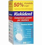 KUKIDENT CLEANSER FRESCH 88 COMPRESSE PULIZIA PROTESI DENTARIE - Farmaunclick.it
