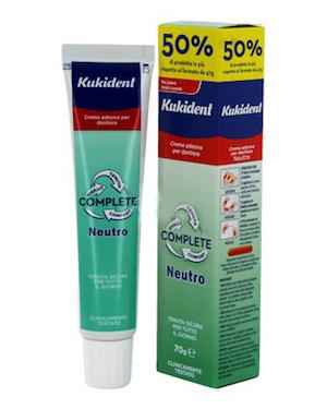 Kukident Neutro Complete Crema Adesiva 70 g - Farmalilla