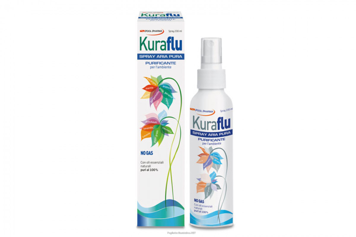 KURAFLU ARIA PULITA SPRAY 200 ML - Farmastar.it