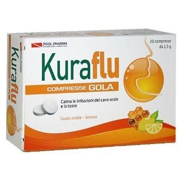 KURAFLU GOLA LIMONE/MIELE 20 COMPRESSE - Farmafirst.it