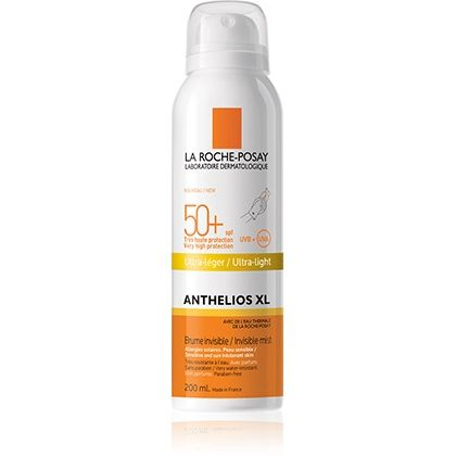 LA ROCHE-POSAY ANTHELIOS XL SPF 50+ SPRAY CORPO INVISIBILE ULTRA-LEGGERO 200ML - Nowfarma.it