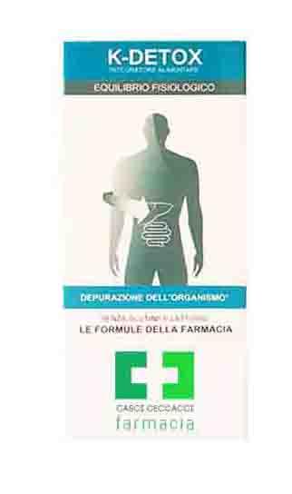 K-DETOX DRENANTE DEPURATIVO 200 ML FARMACIA CASCI CECCACCI - Farmacento
