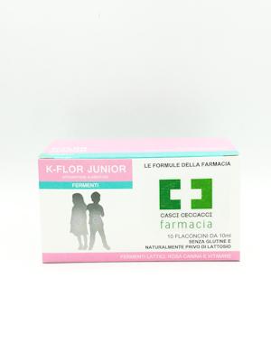 K-FLOR JUNIOR FERMENTI LATTICI 10 FIALE  - Farmacento
