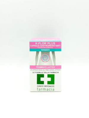 K-FLOR PLUS FERMENTI LATTICI 30 CAPSULE  - Farmacento