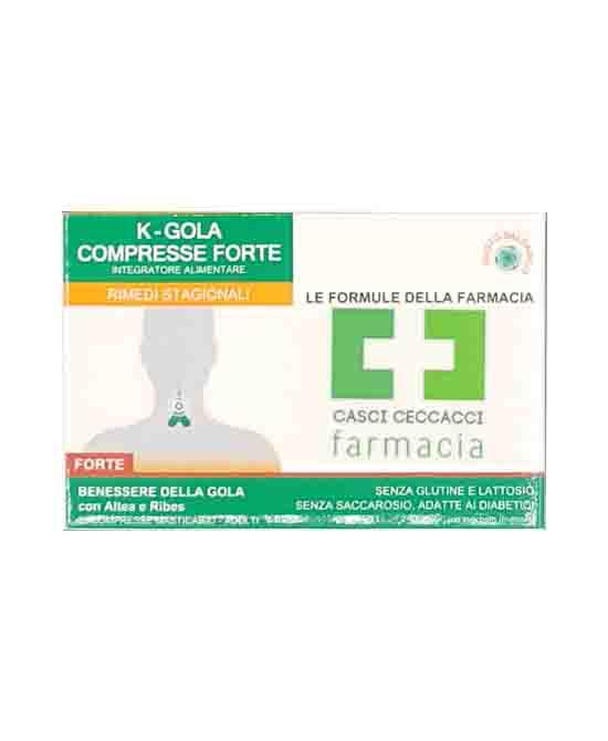 K-GOLA FORTE COMPRESSE FARMACIA CASCI CECCACCI - Farmacento