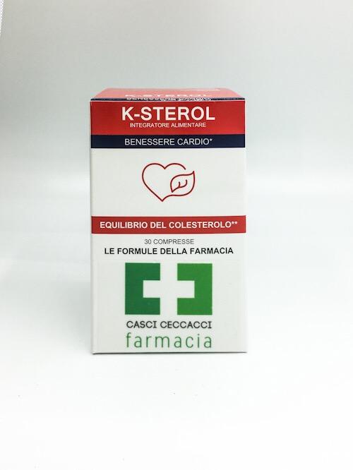 K-STEROL COLESTEROLO 30 COMPRESSE FARMACIA CASCI CECCACCI - Farmacento