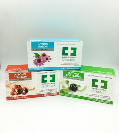 K-TONO JUNIOR 10 FLACONCINI  - Farmacento
