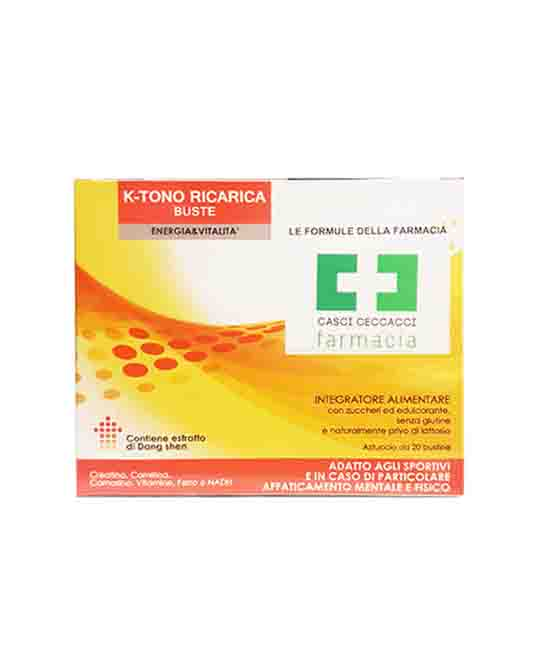 K-TONO RICARICA 20 BUSTINE  - Farmacento