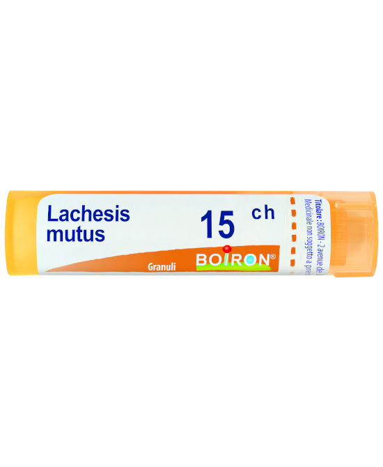 LACHESIS MUTUS 15 CH GRANULI - Farmaci.me