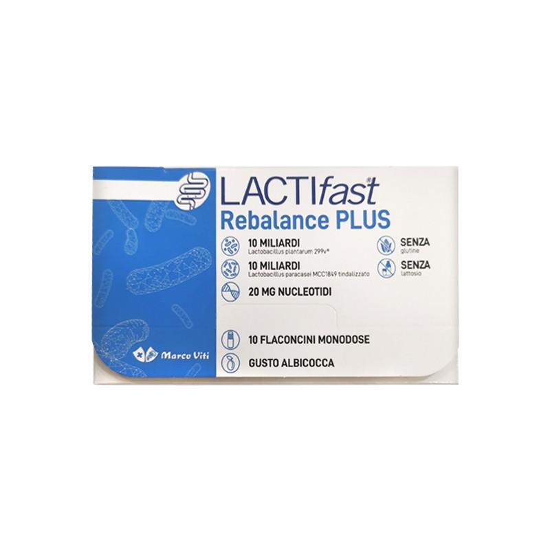 LACTIFAST REBALANCE PLUS 10  flaconcini 8 ml - Zfarmacia