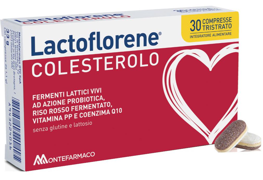 LACTOFLORENE COLESTEROLO 30 COMPRESSE - Farmacia Centrale Dr. Monteleone Adriano