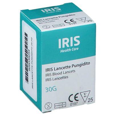 LANCETTE PUNGIDITO IRIS 25 PEZZI - Farmacia Bisbano