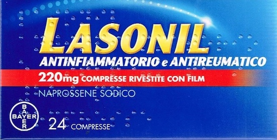 Lasonil Antinfiammatorio 24 Compresse - Farmalilla