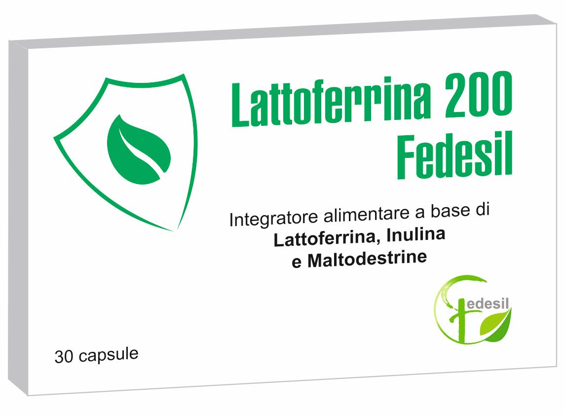 LATTOFERRINA 200 FEDESIL 30 CAPSULE - Farmacia Centrale Dr. Monteleone Adriano