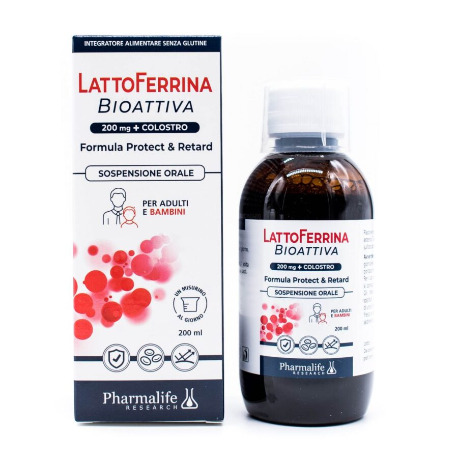LATTOFERRINA BIOATTIVA 200 ML - Farmapage.it