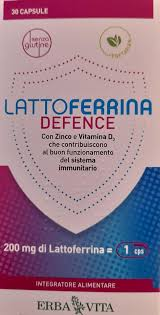 LATTOFERRINA DEFENCE 30 CAPSULE - La farmacia digitale