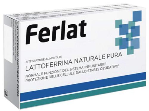 LATTOFERRINA NATURALE PURA 40 COMPRESSE FERLAT - Farmacia Centrale Dr. Monteleone Adriano