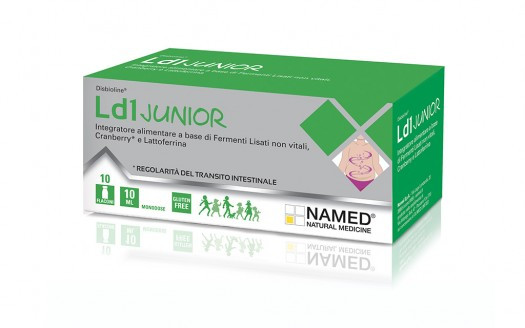 NAMED LD1 JUNIOR 10 FIALE MONODOSE 10 ML - Farmastar.it