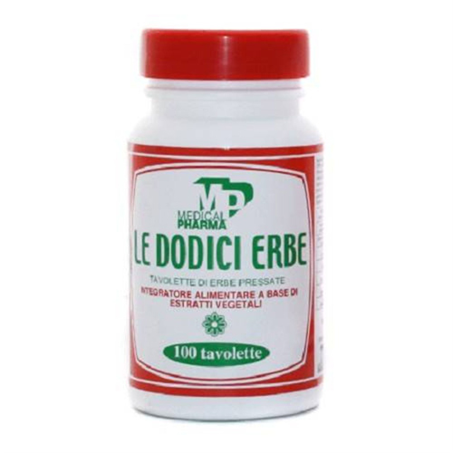 LE DODICI ERBE 100 TAVOLETTE - Farmacia Centrale Dr. Monteleone Adriano