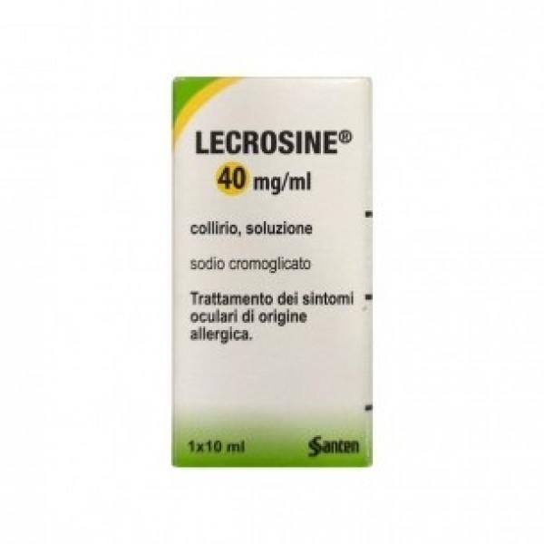 Lecrosine Collirio 40mg/ml Flacone 10ml - Arcafarma.it